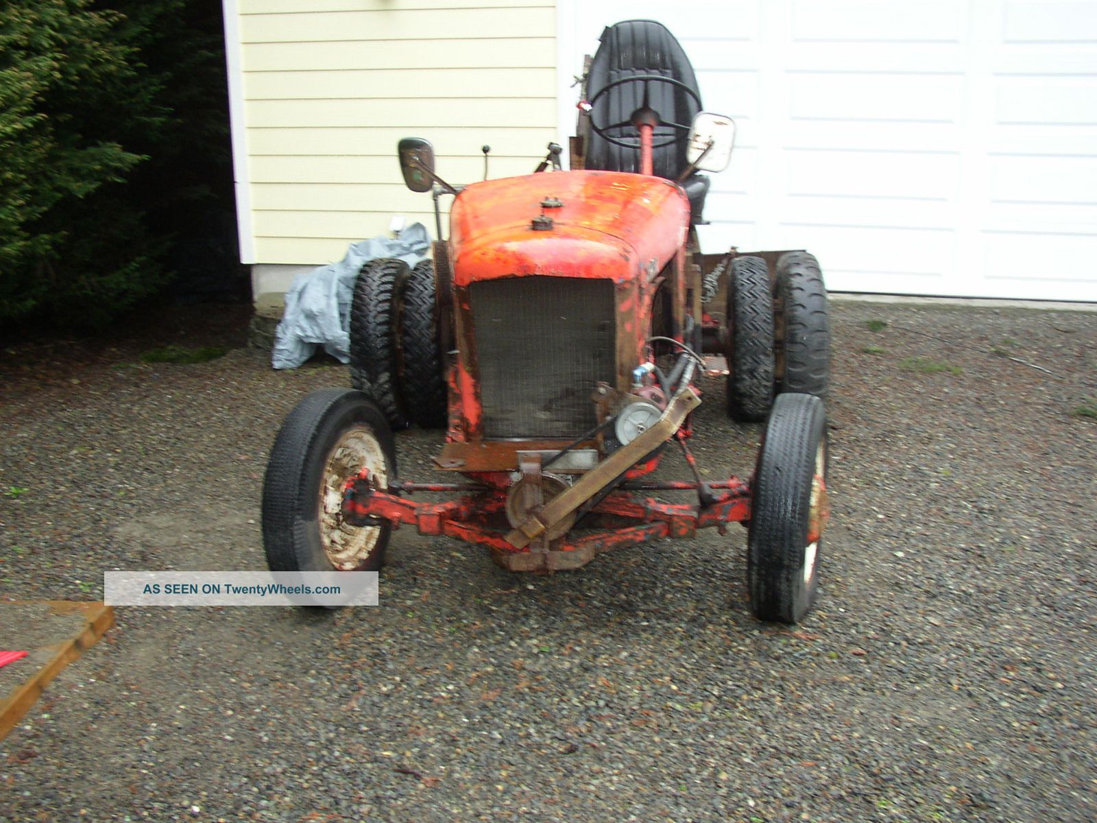 Toro golf course tractor ford runing gear