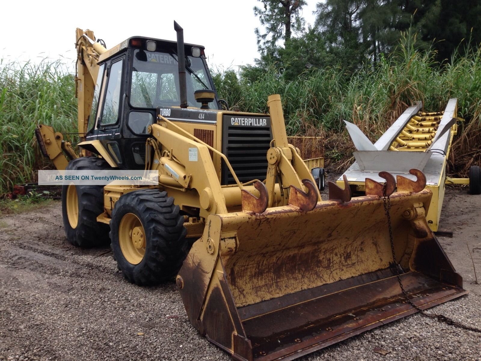 2003 Caterpillar 446b 4wd Inclosed Cab Backhoe Loaders photo