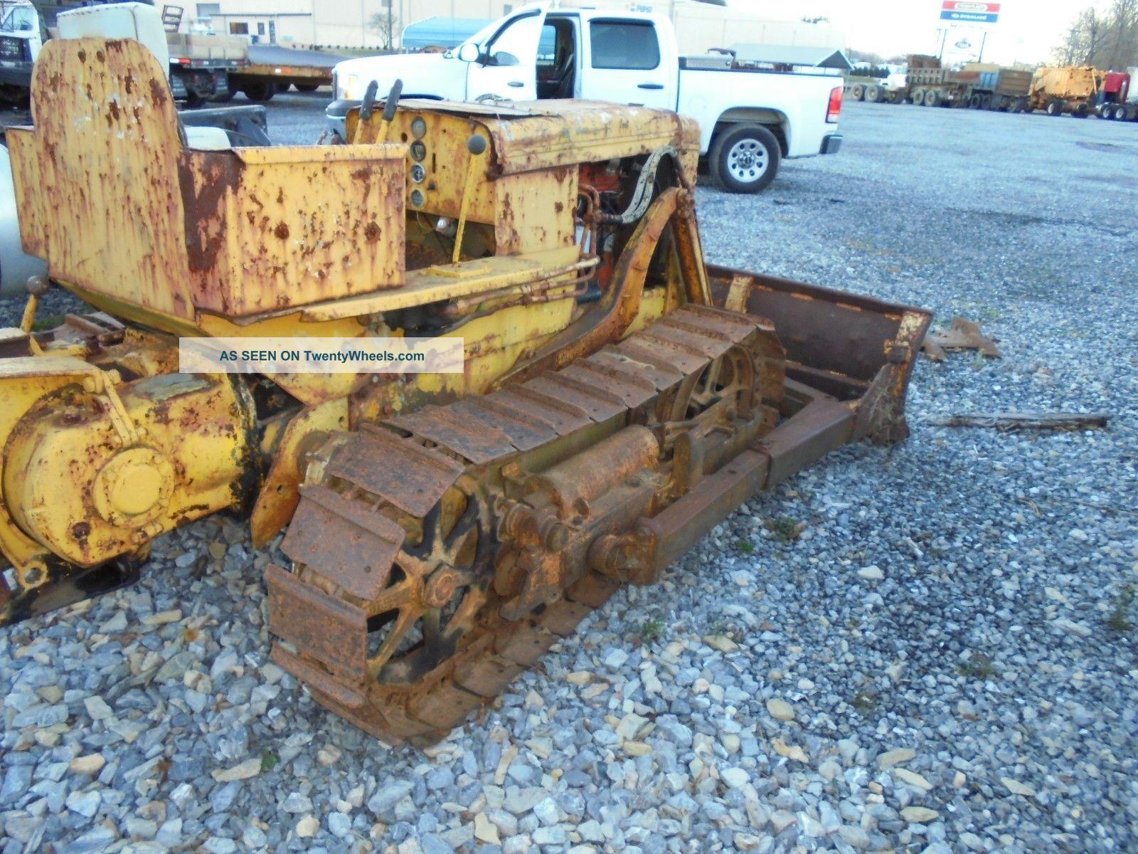 Case Terratrac Loader Dozer Crawler Cat John Deere