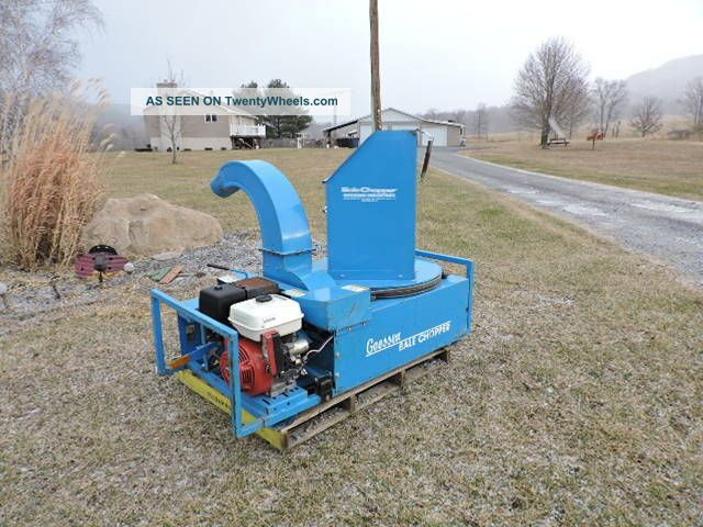 Goosen Bcg3 Bail Chopper Straw Blower Strawblower Hydroseeder Honda Mulcher Other photo