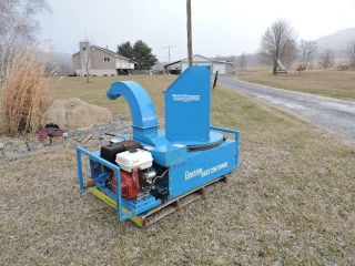 Goosen Bcg3 Bail Chopper Straw Blower Strawblower Hydroseeder Honda Mulcher photo