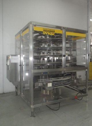 Hartness Spiral Accumulation Conveyor System Model Dynac 6400q photo