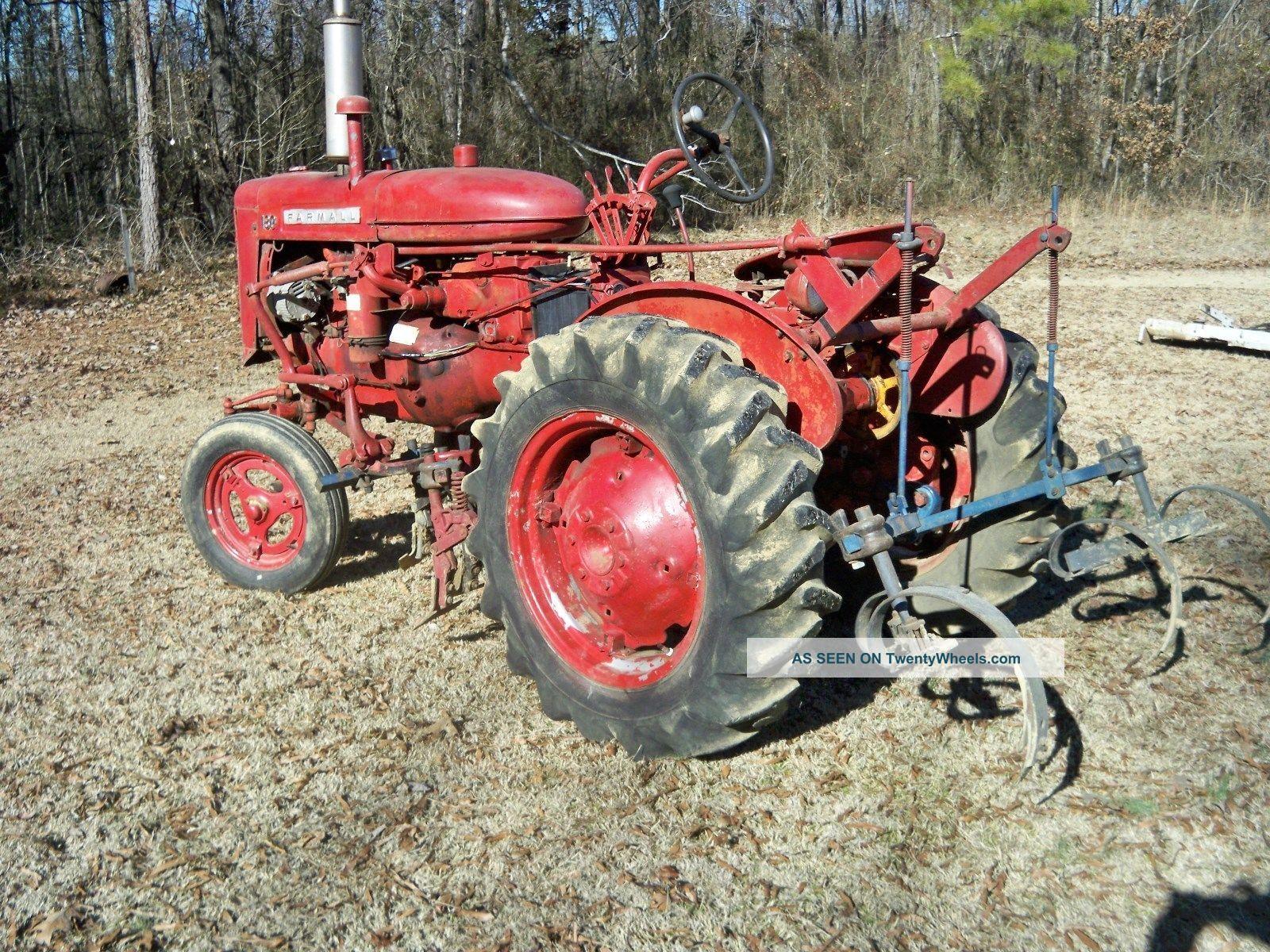 1957 Farmall 130 Tractor Antique & Vintage Equip Parts photo