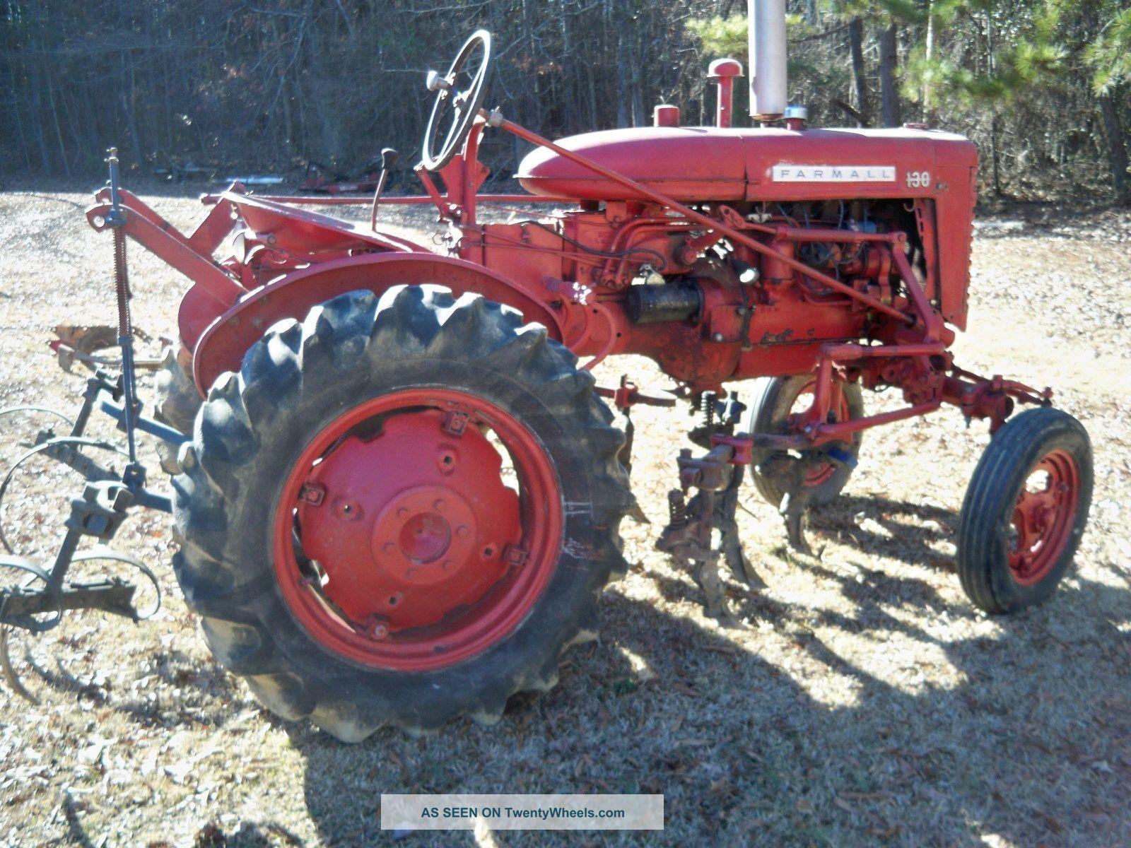 Farmall 130 Tractor : Farmall tractor
