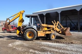 Case 580 L 4x4 Backhoe photo