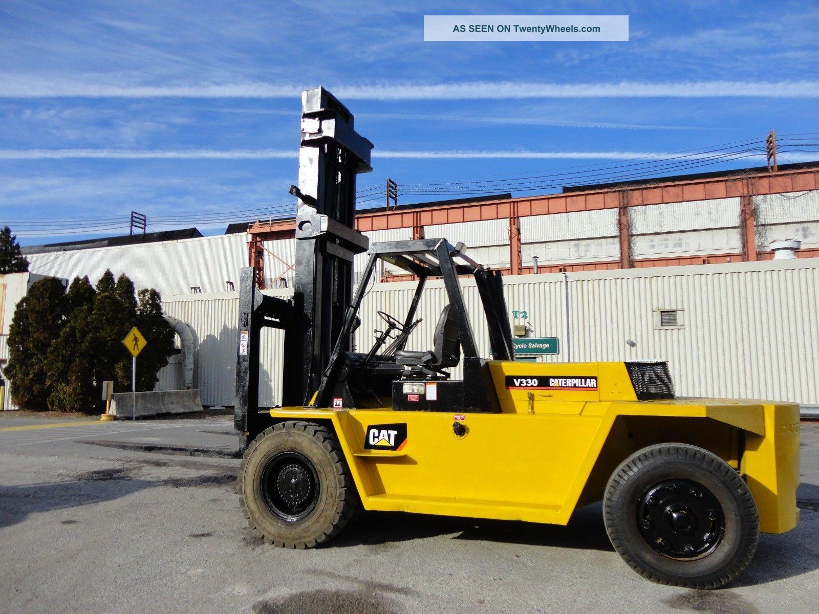 Cat Lift Boom : Caterpillar fork lift bing images