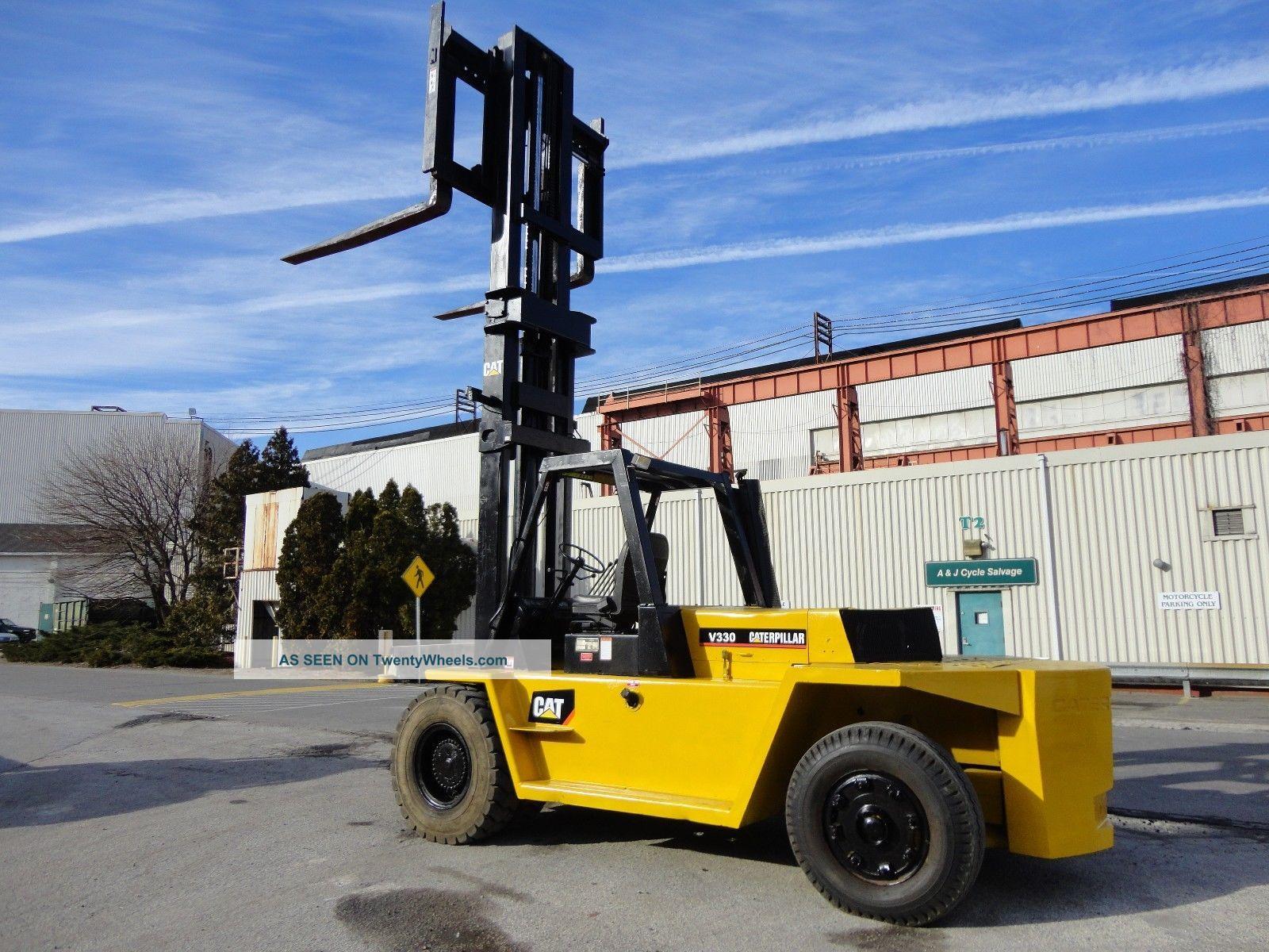 Cat Lift Boom : Caterpillar v  lbs forklift diesel side shift ft