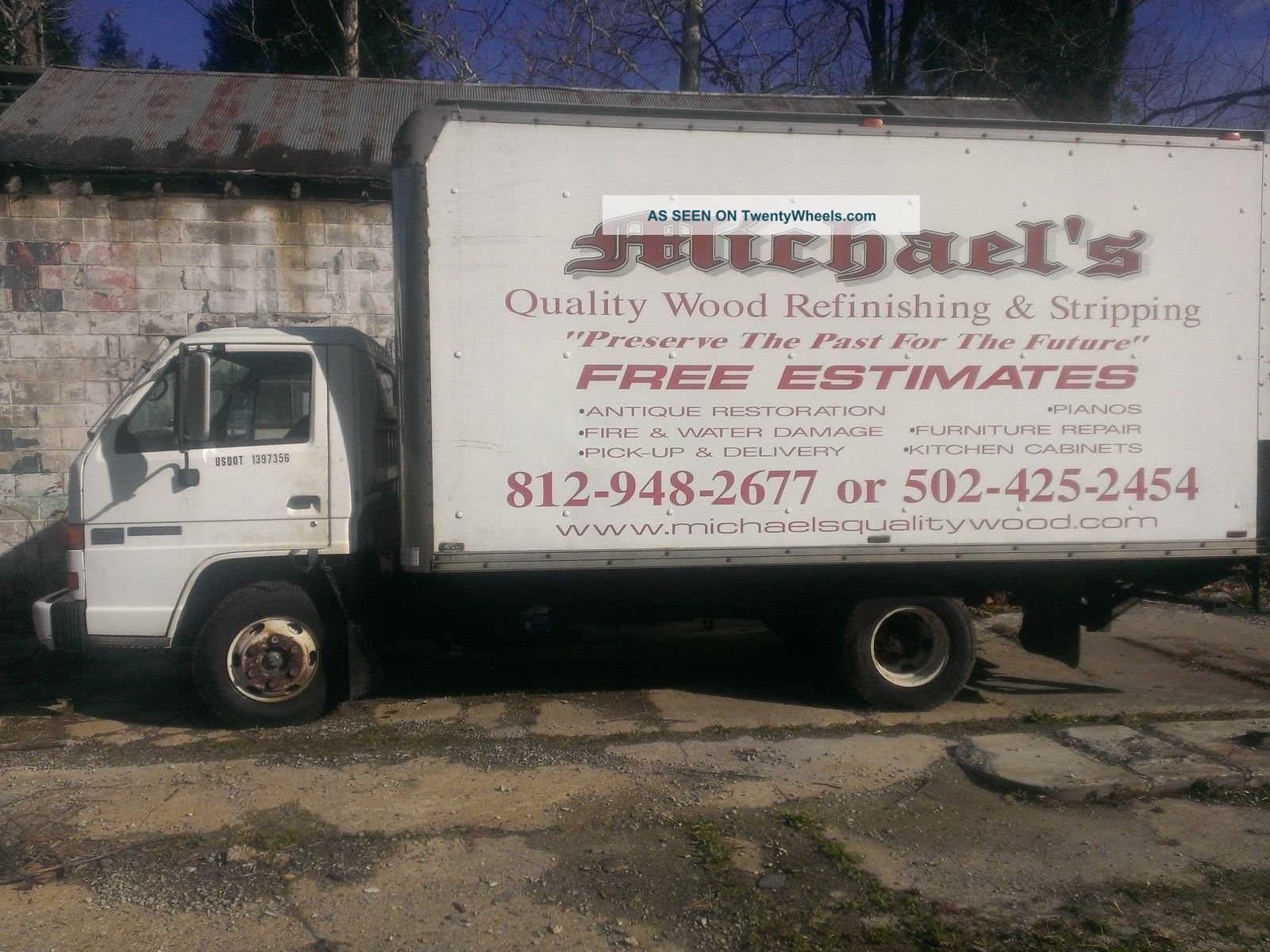 1993 gmc isuzu npr 4000 box trucks / cube vans photo