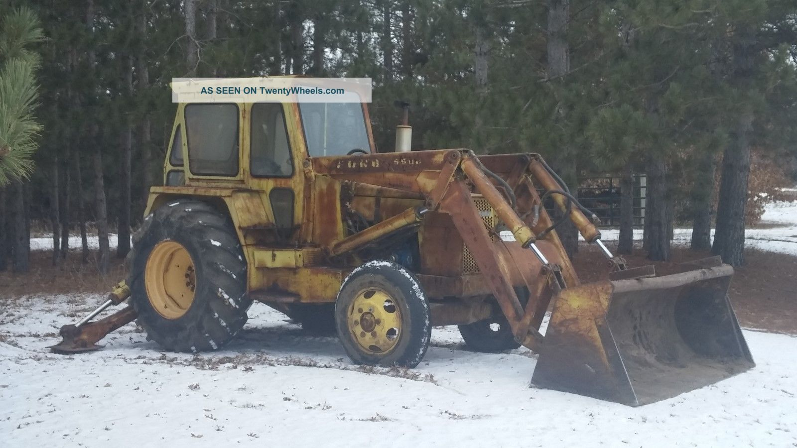 ford 5500 backhoe specifications