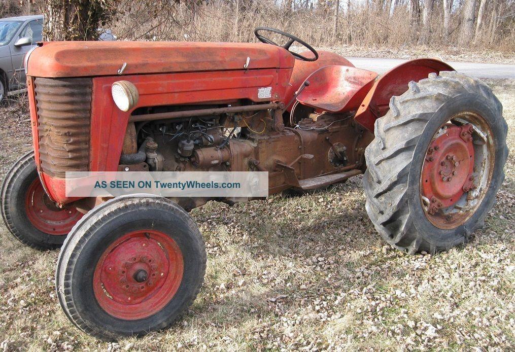 1956 Massey Ferguson 40 Tractor : Tractor massey harris ferguaon