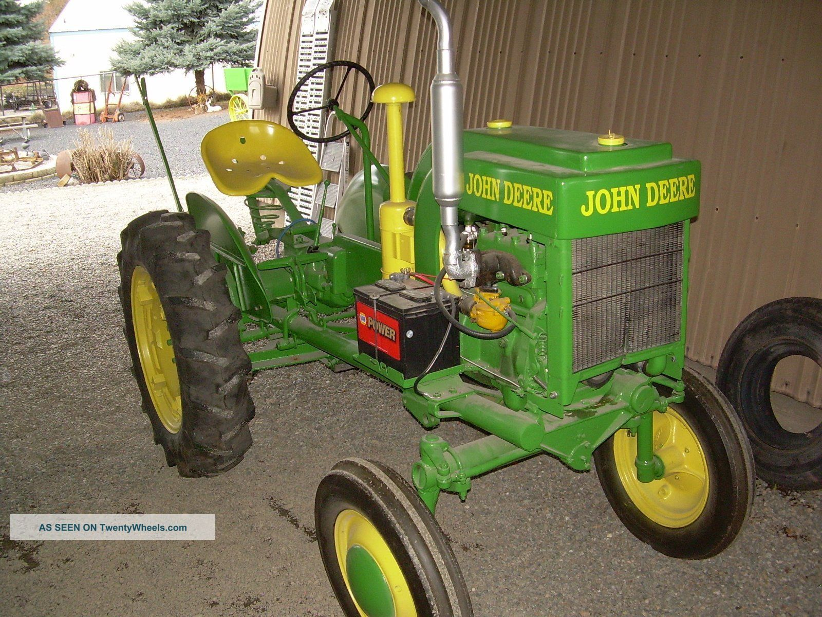 Antique john deere tractor photos The Art of the John Deere Tractor: Featuring Tractors from