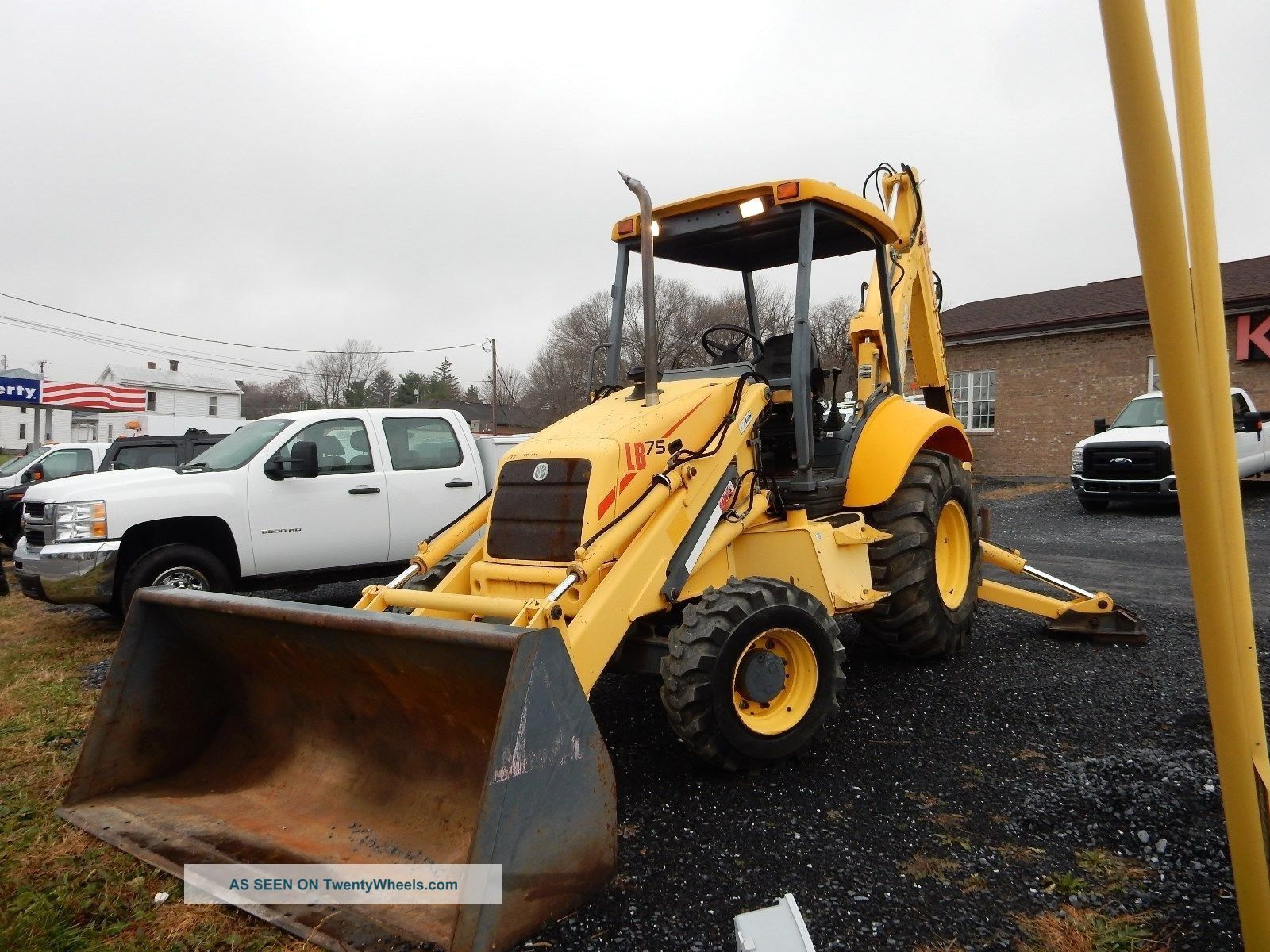 1999 Holland Lb75 4x4 Extendahoe Backhoe 75%+ Tires 2100 Hrs Well Maintained Backhoe Loaders photo