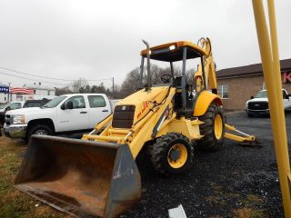 1999 Holland Lb75 4x4 Extendahoe Backhoe 75%+ Tires 2100 Hrs Well Maintained photo