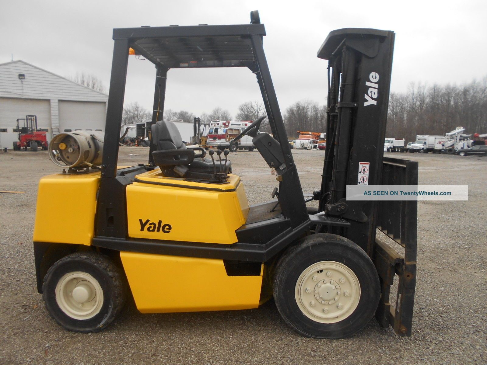 Yale Forklifts Glp060 Wiring Diagram Forklift 8000 Lb Capacity
