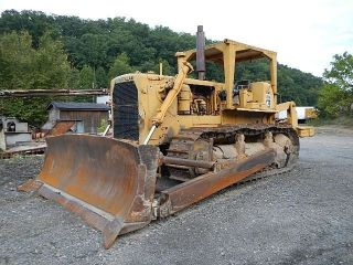1962 Caterpillar D8h Bulldozer photo