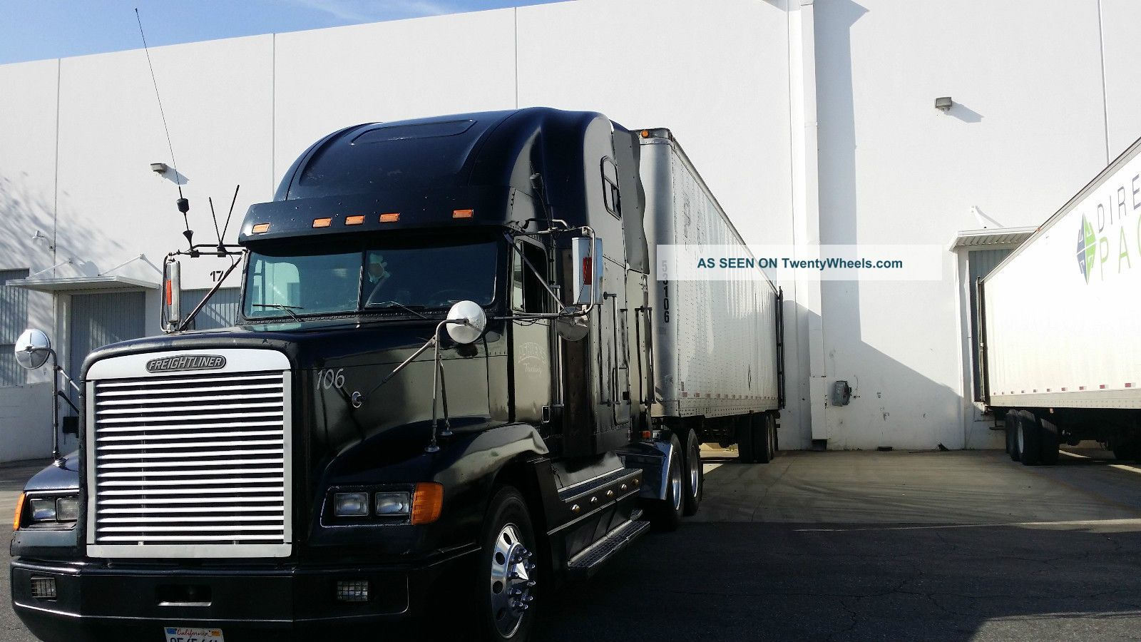 1994 freightliner fld120 with sleeper pictures to pin on