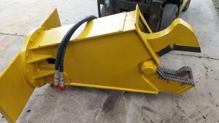 Hydraulic Alligator Bobcat Excavator Scrap Shear photo