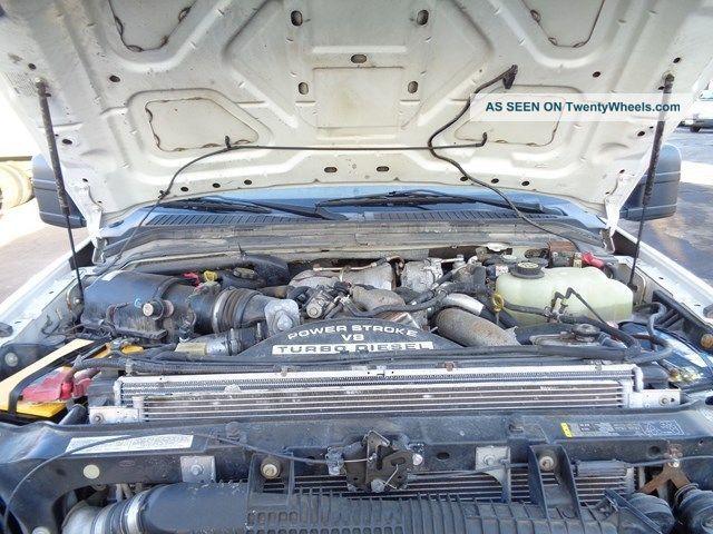 6.4 Powerstroke Turbo Specs >> 2008 Ford F550 4x4 Bucket Boom Truck 6. 4l Turbo Diesel