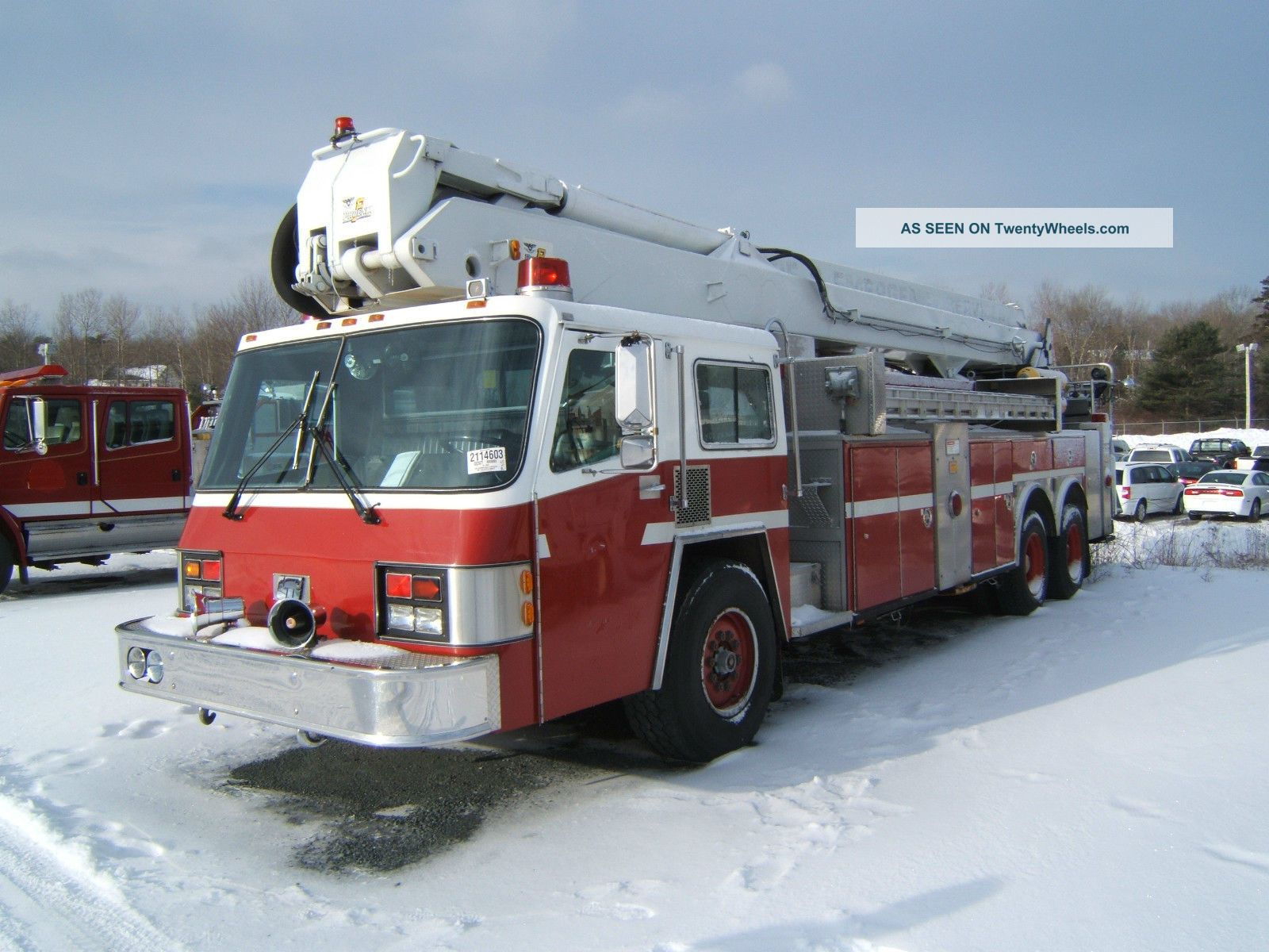 1988 Simon - Duplex Aerial Fire Truck Emergency & Fire Trucks photo