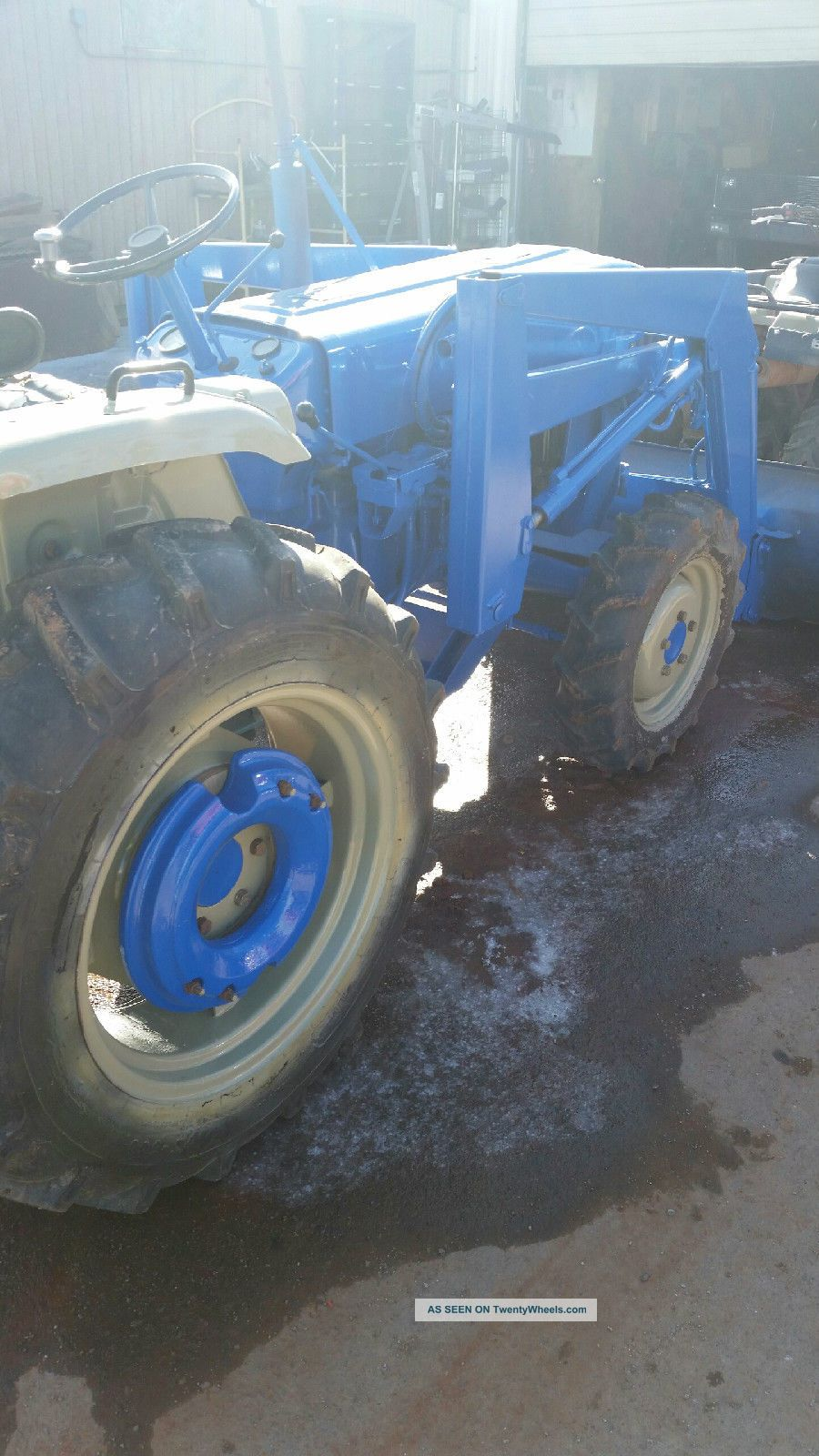 Ford 1710 Loader : Ford tractor loader box blade