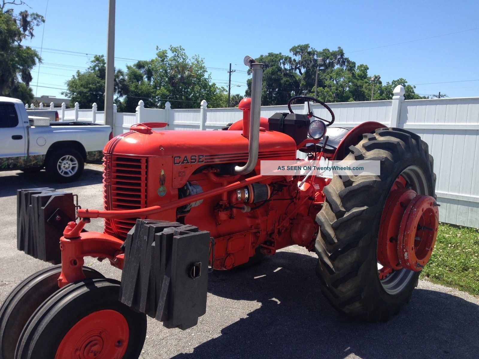 1952 Case Dc Tractor : Case dc farm stock pulling tractor l k