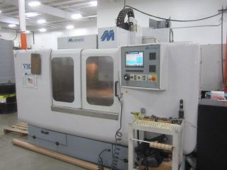 Milltronics Vm - 24 Cnc Machining Center Centurion 6 Cnc Control photo