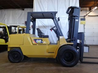 2002 Caterpillar Dp50k 11000lb Dual Pneumatic Lift Truck 96