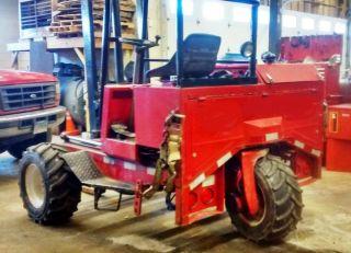 1993 Moffett M5000 Diesel Piggyback Forklift photo