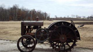 Spoker D John Deere Tractor 1924 Ie: A Gp 1925 Unstyled Antique photo