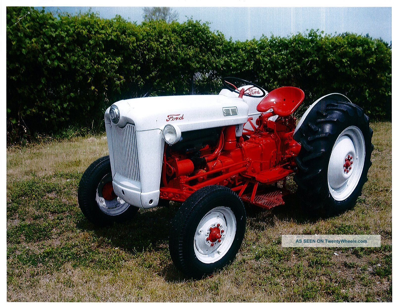 Ford Jubilee Specifications : Ford naa golden jubilee tractor repair shop