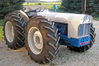 Rare 1962 Ford County 6 Four Wheel Drive Tractor Completly Restored photo