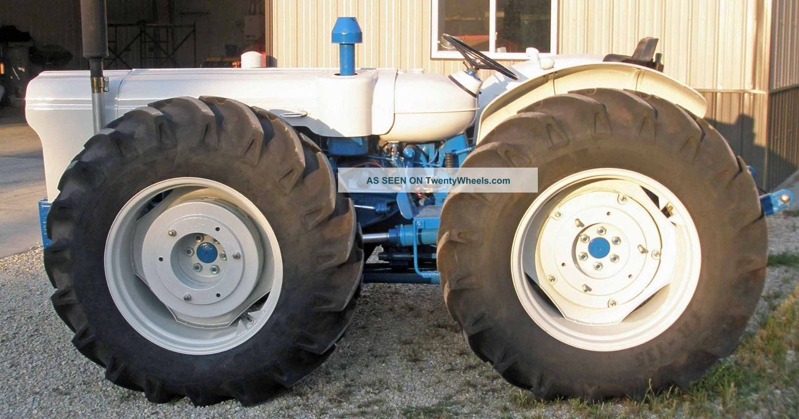 6 Wheel Drive Tractor : Rare ford county four wheel drive tractor completly