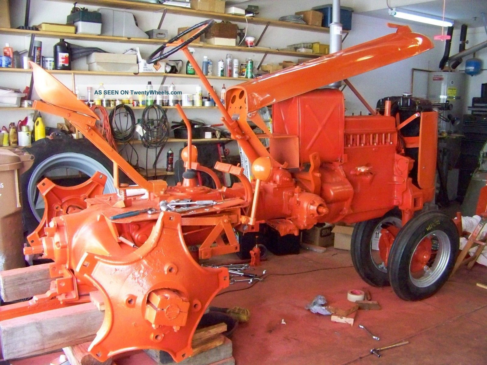 Case Vac Tractor Data : Case vac tractor restored
