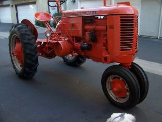Case 1947 Vac Tractor Restored photo