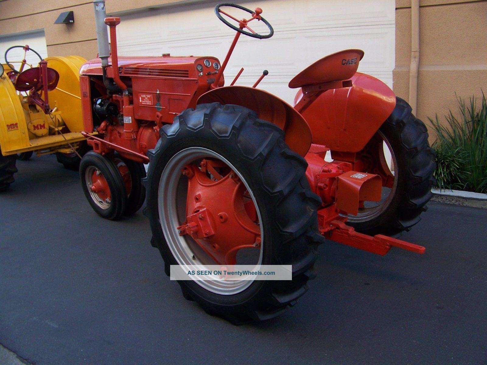 1947 Case Tractor : Case vac tractor restored