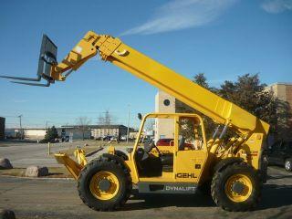 Gehl Dl10h55 Telehandler Reach Forklift Telescopic Handler John Deere Reachlift photo