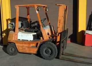 4000 Lbs.  Toyota Forklift photo