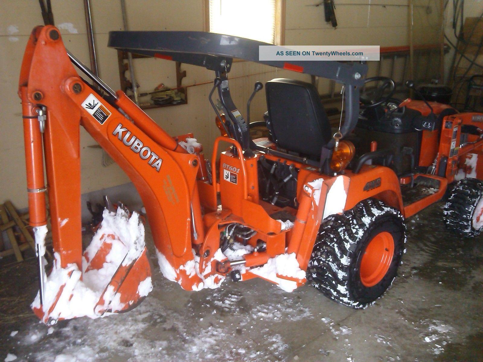 Kubota Tractors With Dual Wheels : Kubota tractor hydrostatic bx