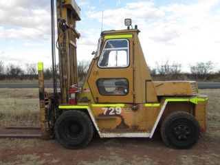 Cat V150 Forklift,  Reconditioned,  2 Stage Mast,  Diesel,  Fork Positioners,  Cab, photo