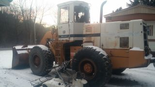1983 International 530 Front Wheel Loader Cab Heat photo