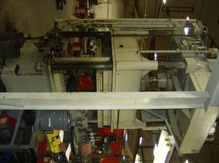 Dake 150 Ton 4 Post Hydraulic Press photo