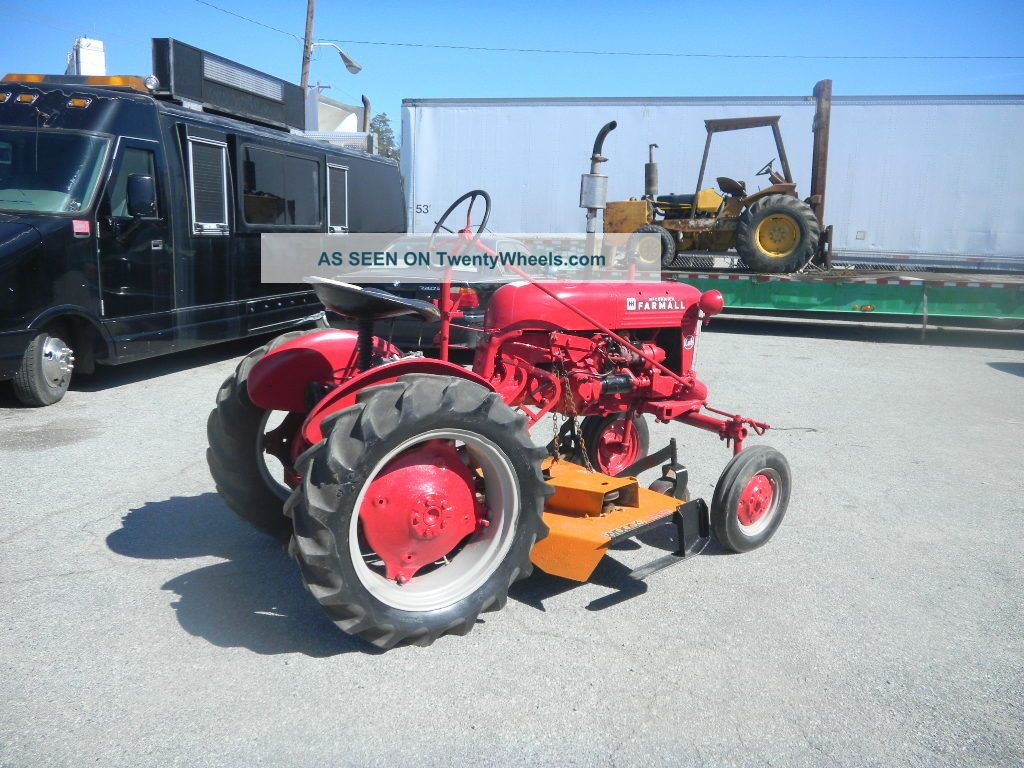 Woods Tractor Parts : International cub tractor woods belly mower deck plow
