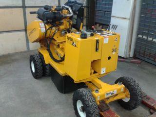 2011 Carlton Sp4012 Horsepower 44 Stump Grinder And 16ft Utility Trailer photo