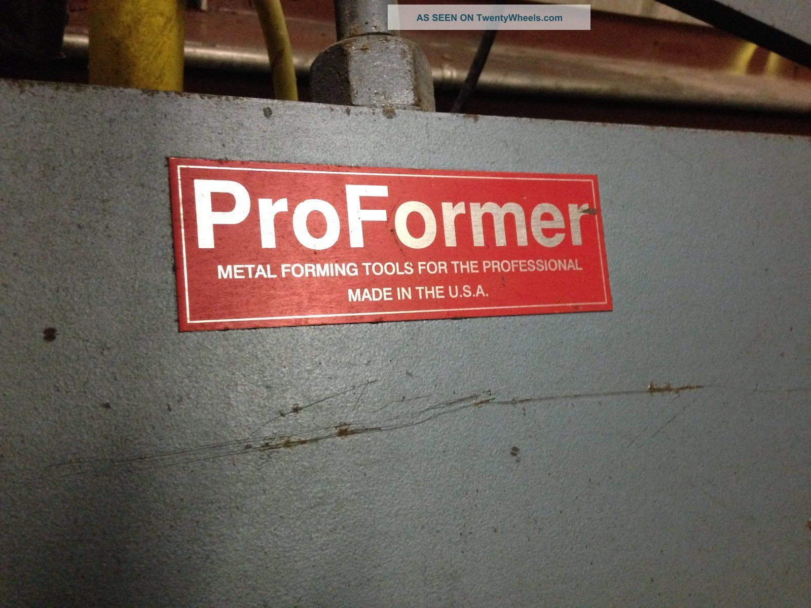 Proformer Sheet Metal Brake 10ft Sheet Metal Brake 20 Ga