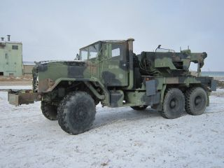 Ex Military Am General M936 Winch/crane/wrecker 6x6 Diesel photo