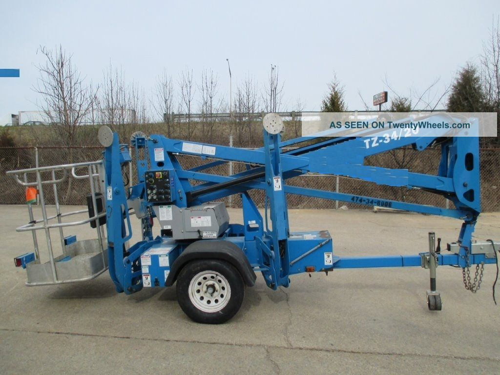 2008 Genie Tz34/20 Towable Boom Jlg/ Biljax / Nifty Lift Other photo