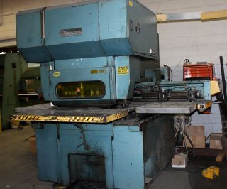 33 Ton Amada Octo 334 Multi - Stational Punch Press photo