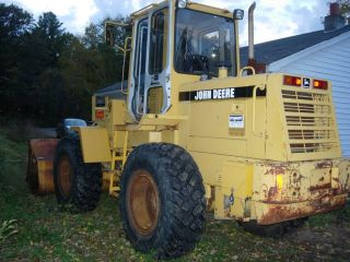 John Deere 444g 1996 Wheel Loader photo