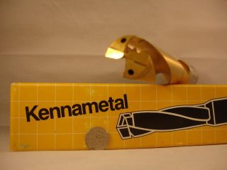 22.  5mm X 4 - 3/4in X 7in Kennametal Square Nose Se Kennametal Drill (1) photo