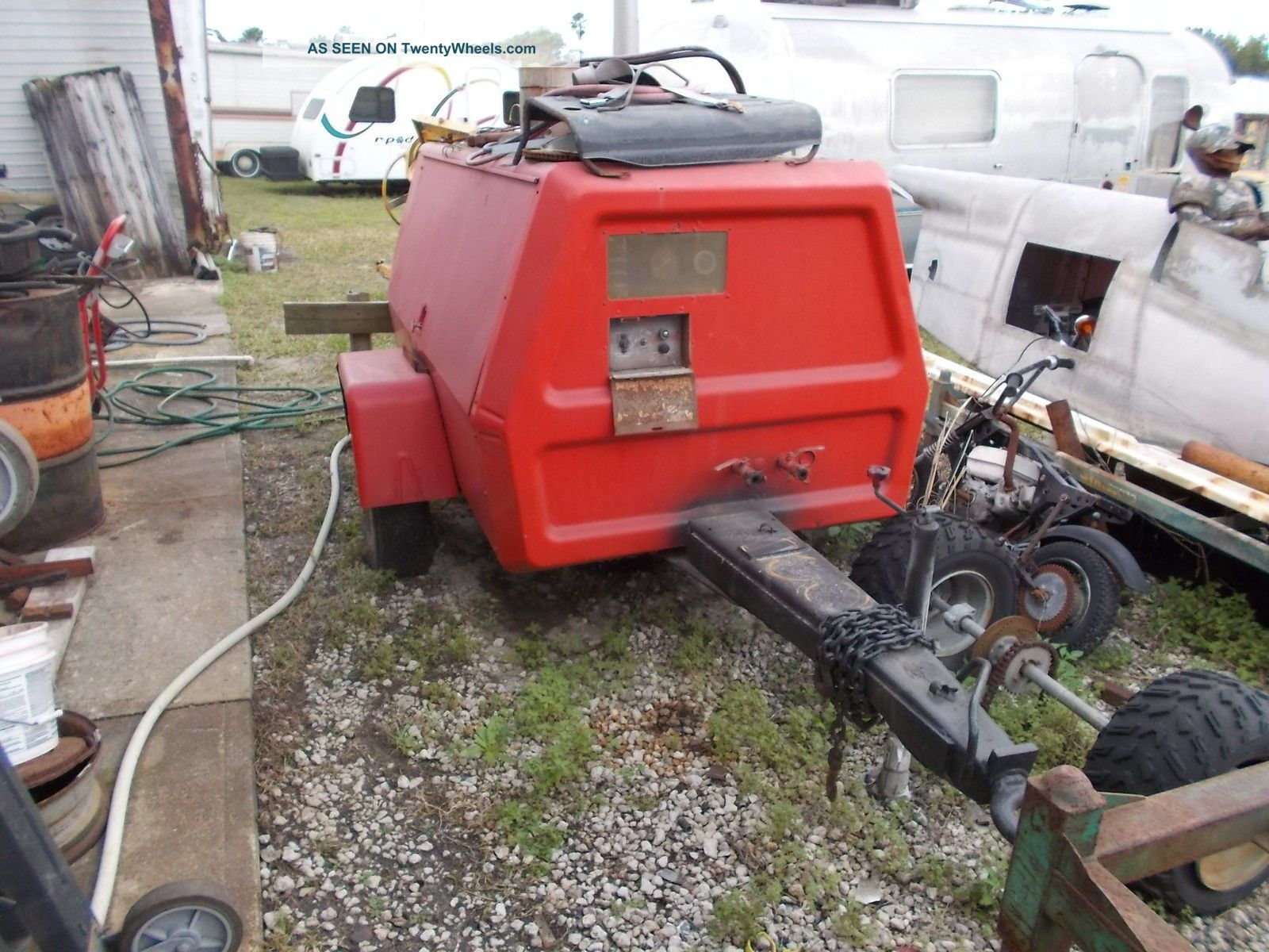 Ingersoll Rand 185 Diesel John Deere Compressor Other photo